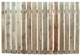 Paling Fence Panel 22mm Gap x 1.83m Options