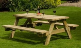RECTANGLE Picnic Table